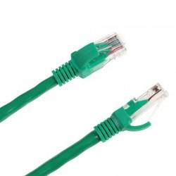 Cablu UTP CAT 6E cu mufe 3m verde