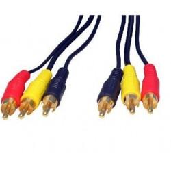 Cablu 3RCA tata la 3RCA tata 1.5m
