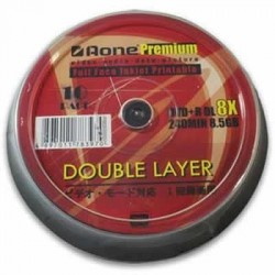 DVD+R Double Layer printabil AONE 8.5Gb