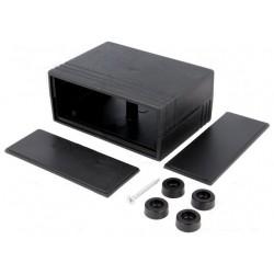 Carcasa neagra 91x66x39mm