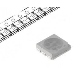 Led SMD 5050 PLCC6 galben