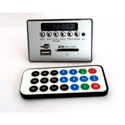 Modul MP3 USB / SD cu afisaj led-uri