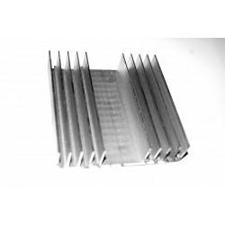 Radiator aluminiu 100x100mm