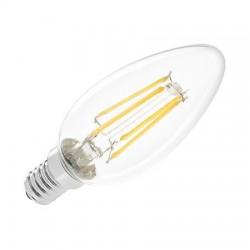 Bec leduri E14 filament 4W Vipow