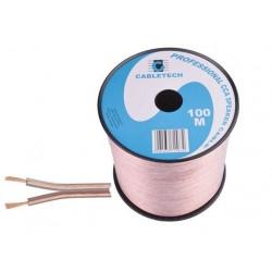 Cablu difuzor transparent 2x0.35mm