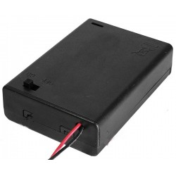 Suport baterii 3xR3 cu intrerupator