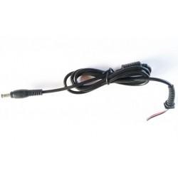 Cablu alimentare cu ferita DC 5.5x2.5mm lungime 1.2m