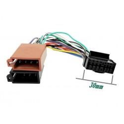 Conector auto ISO JVC16 pini mod.1