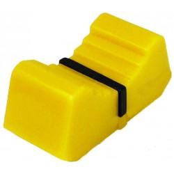 Buton potentiometru translatie galben