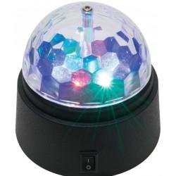 Lampa disco cu led-uri