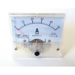 Ampermetru analogic 50A curent continuu