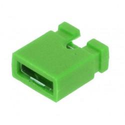 Conector jumper verde