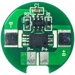 Circuit limitator de curent debitat pt. acumulatoare 18650