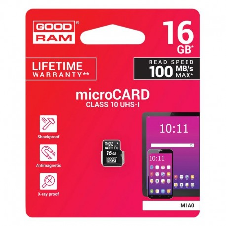 MicroSDHC 16Gb Goodram