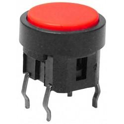 Intrerupator dublu fara retinere ON - OFF 10x12mm rosu