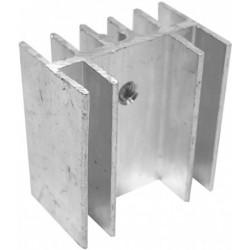 Radiator aluminiu 24x15x25mm