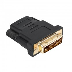 Adaptor HDMI mama - DVI-D tata gold