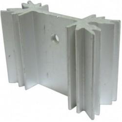 Radiator aluminiu 35x40mm