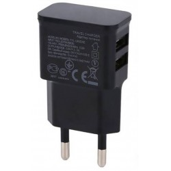 Alimentator mufa USB 110-240V - 2x 5V/2A