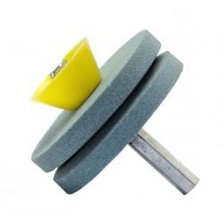 Dispozitiv ascutit cutite si foarfeci bormasina
