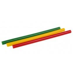 Set batoane plastic 7.2mm x 100mm 12buc. colorate