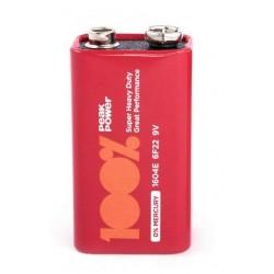 Baterie 9V Zinc Carbon Peakpower