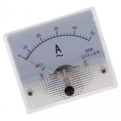 Ampermetru analogic 50A curent alternativ