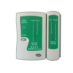 Tester cablu UTP (RJ45 - RJ11)